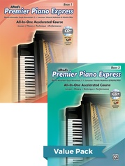 Premier Piano Express, Books 1 & 2 (Value Pack)