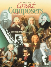 Meet the Great Composers, Book 1