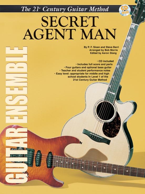 Belwin's 21st Century Guitar Ensemble Series: Secret Agent Man