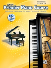 Premier Piano Course, Universal Edition Lesson 1B