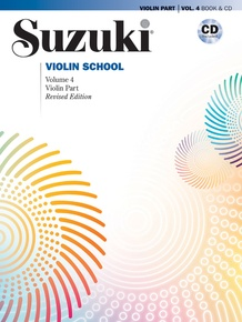 Suzuki Violin School Violin Part & CD, Volume 4 (Revised)