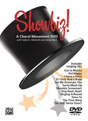 Showbiz! A Choral Movement DVD