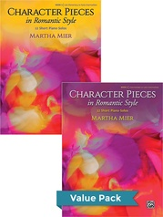 Character Pieces in Romantic Style, Books 1-2 (Value Pack)