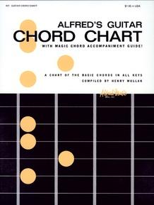 Alfred's Guitar Chord Chart