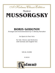 Boris Godunov - An Opera in Four Acts