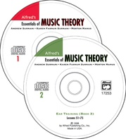 Alfred's Essentials of Music Theory: Ear Training CDs 1 & 2 Combined (for Books 1-3)