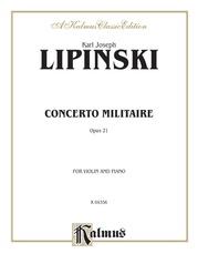 Concerto Militare, Opus 21