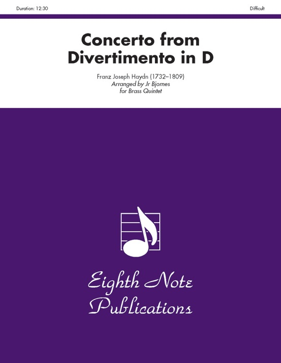 Concerto (from Divertimento in D)