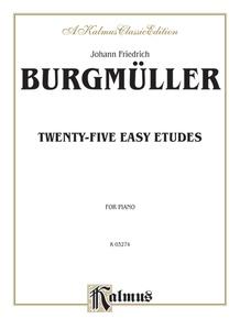 25 Easy Etudes, Opus 100
