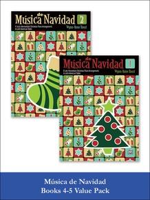Música de Navidad Books 1-2 (Value Pack)