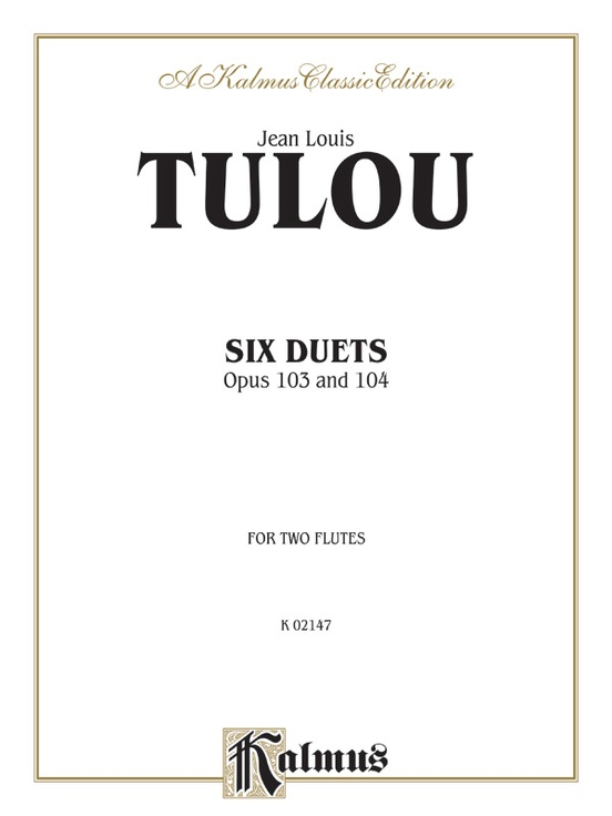 Six Duets, Opus 103 and 104
