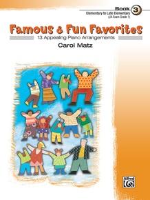Famous & Fun Favorites, Book 3