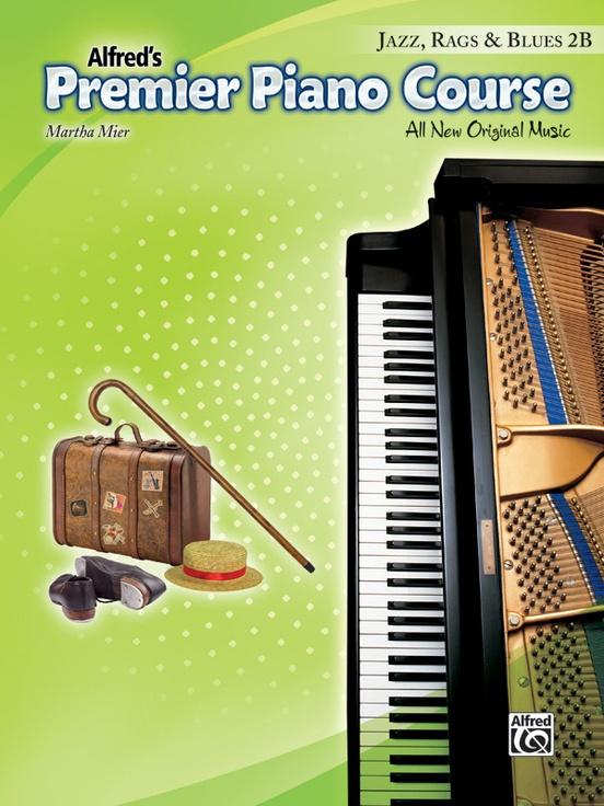 Premier Piano Course, Jazz, Rags & Blues 2B