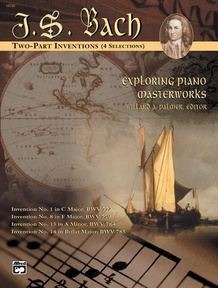 Exploring Piano Masterworks: 2-Part Inventions (4 Selections)