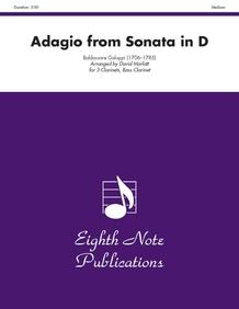 Adagio (from <I>Sonata in D</I>)