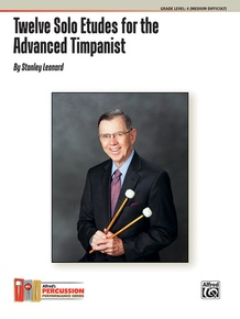 Twelve Solo Etudes for the Advanced Timpanist