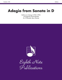 Adagio (from <I>Sonata in D</I>)