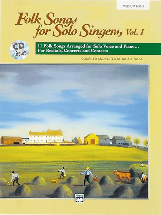 Folk Songs for Solo Singers, Vol. 1
