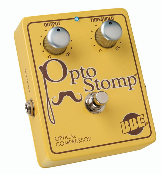 BBE Opto Stomp Optical Compressor Guitar Effects Pedal