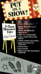 Put On a Show! A Choral Movement DVD