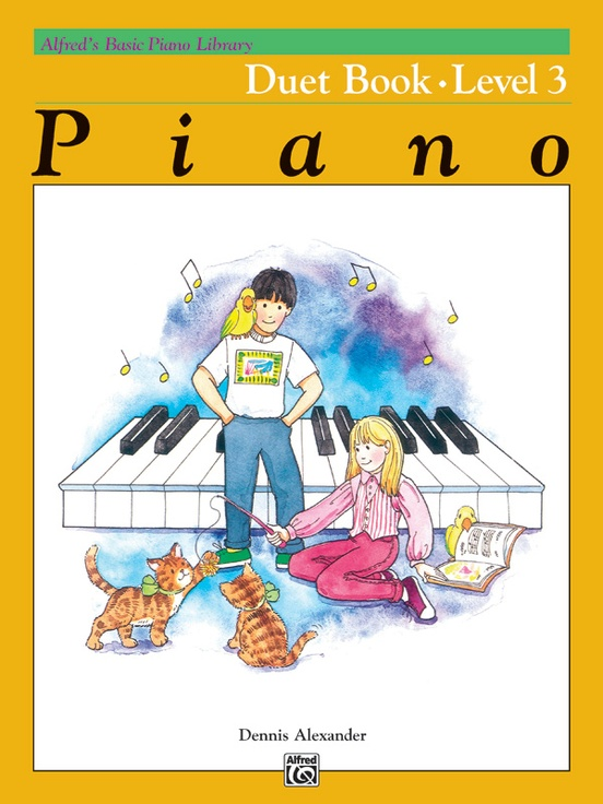 Alfred's Basic Piano Library: Duet Book 3