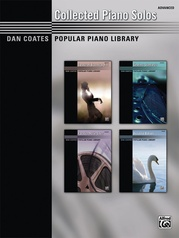 Dan Coates Popular Piano Library: Collected Piano Solos