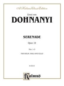 Serenade, Opus 10