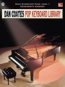 Teacher's Choice! Dan Coates Pop Keyboard Library, Book 1