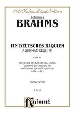 A German Requiem (Ein Deutsches Requiem), Opus 45