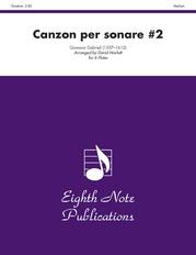 Canzon per Sonare #2
