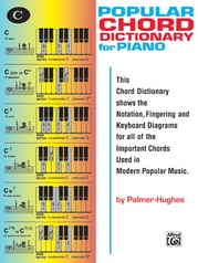 Popular Chord Dictionary for Piano