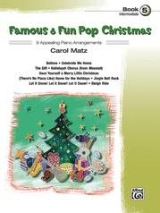 Famous & Fun Pop Christmas, Book 5