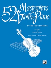 52 Masterpieces for Violin & Piano
