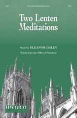 Two Lenten Meditations