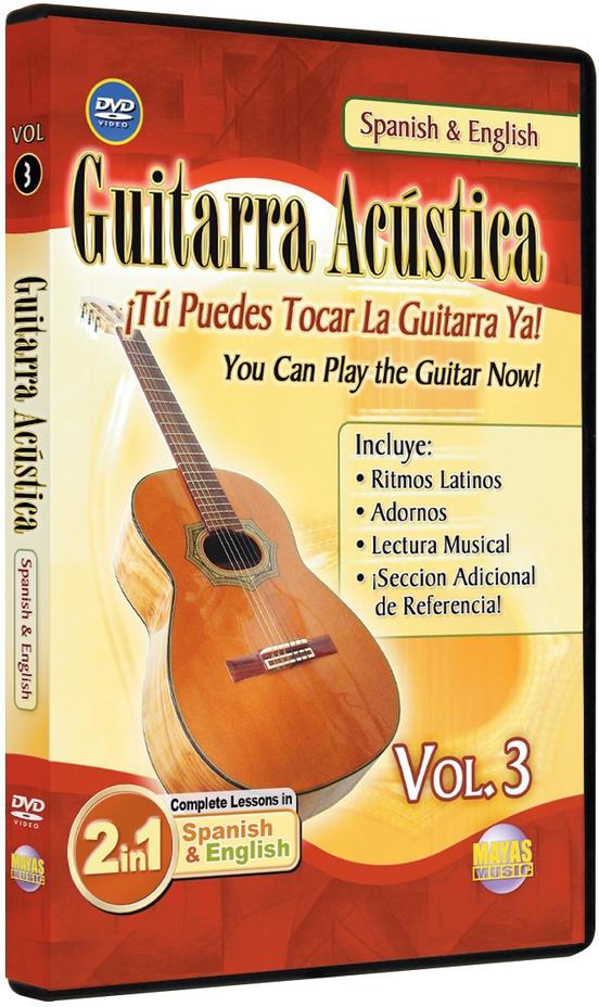 2 in 1 Bilingual: Guitarra Acústica Vol. 3
