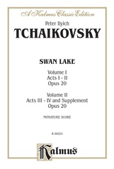 Swan Lake, Opus 20 (Volume I-II, Acts I-IV and Supplement)