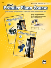 Premier Piano Course, GM Disk 1B for Lesson and Performance