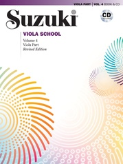 Suzuki Viola School Viola Part & CD, Volume 4 (Revised)