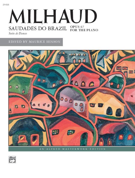 Milhaud: Saudades do Brazil
