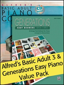 Alfred's Basic Adult 3 (Value Pack)
