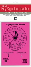 Alfred's Key Signature Teacher: All-In-One Flashcard (Pink)