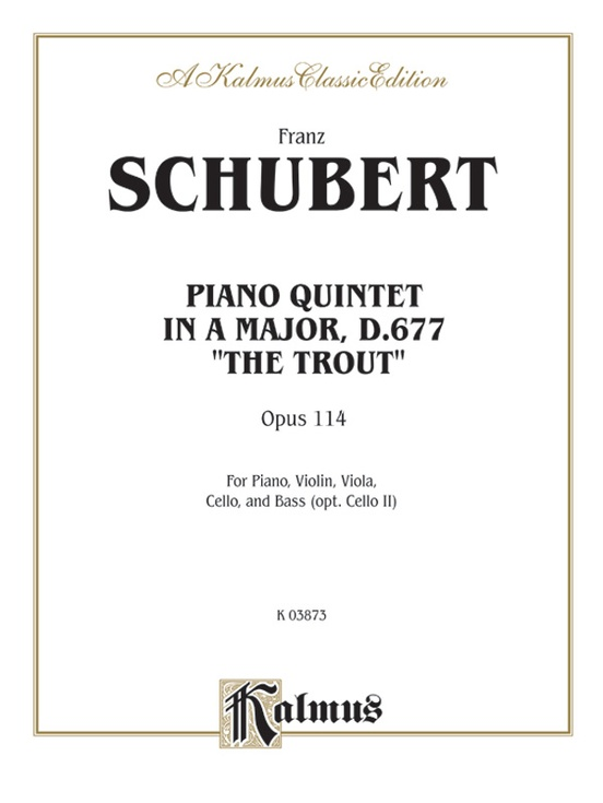 Trout Quintet, Opus 114