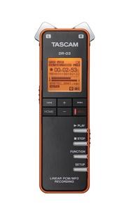 Tascam DR-03 Stereo Handheld Digital Recorder