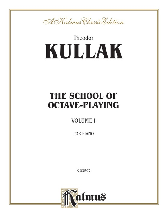 School of Octave Playing, Volume I