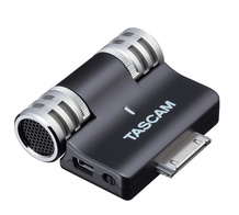 Tascam iM2 Stereo Mic for All Apple iOS Products