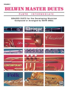 Belwin Master Duets (Flute), Intermediate Volume 2