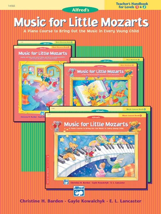 Music for Little Mozarts: Teacher's Handbook for Books 1 & 2