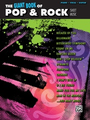 The Giant Book of Pop & Rock Sheet Music