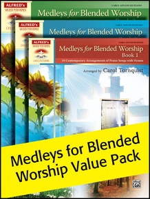 Medleys for Blended Worship 1-3 (Value Pack)