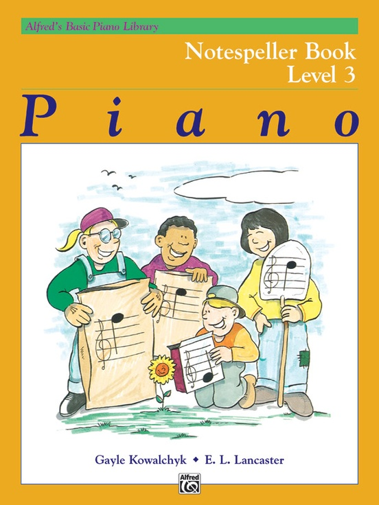 Alfred's Basic Piano Library: Notespeller Book 3